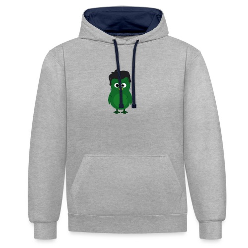 Pingouin Frankeinstein - Sweat-shirt contraste