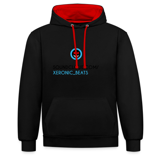 XERONIC LOGO - Contrast Colour Hoodie
