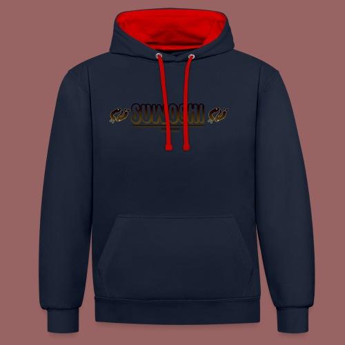 Suwoshi Streetwear - Contrast hoodie