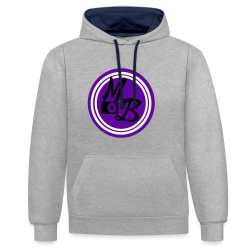 MirandaBos Merch - Contrast hoodie