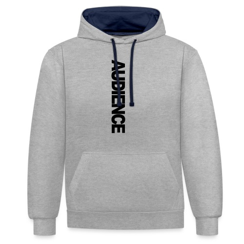audienceiphonevertical - Contrast Colour Hoodie