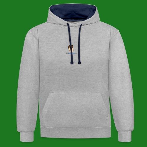 Heren t--shirt cartoon Lewis - Contrast hoodie
