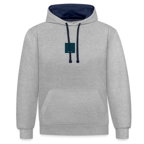 Deciphered Icon - Contrast Colour Hoodie