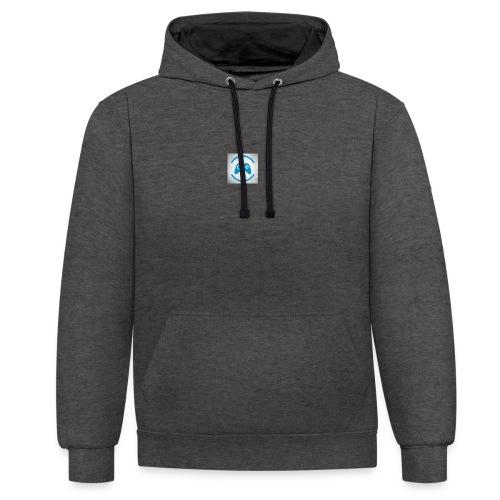 mijn logo - Contrast hoodie