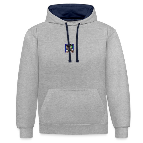 This is the official ItsLarssonOMG merchandise. - Contrast Colour Hoodie