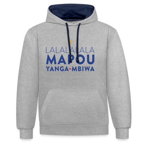 Mapou YANGA-MBIWA - Sweat-shirt contraste
