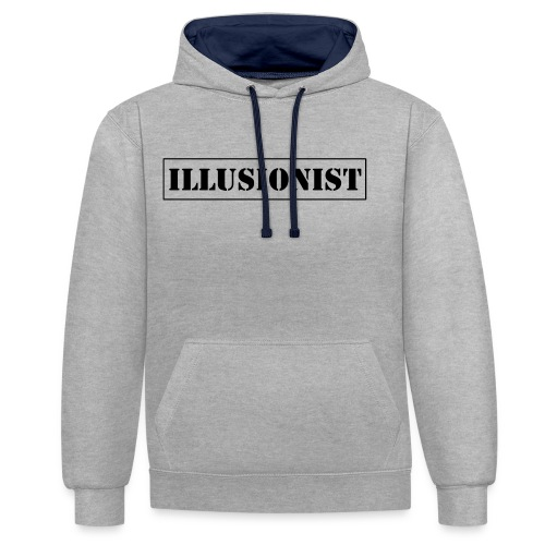 Illusionist - Contrast Colour Hoodie