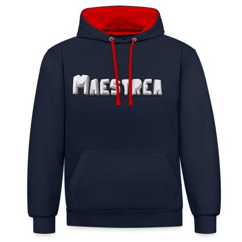 Maestrea Logo Text - Kontrastluvtröja