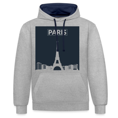Paris - Collection 2015 - Sweat-shirt contraste