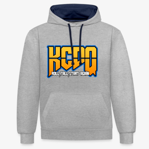 KCDQ , v1.0 , - Sweat-shirt contraste