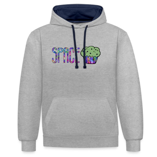 Space cake - Sweat-shirt contraste