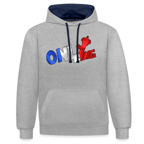 Logo ONLY KING edition francaise - Sweat-shirt contraste