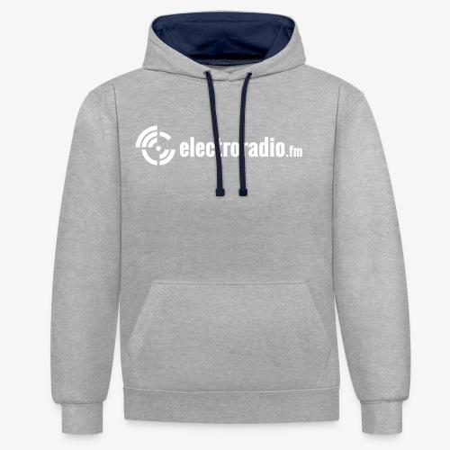 electroradio.fm - Kontrast-Hoodie