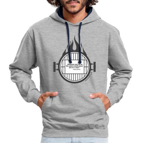 Anthony Bourdain - Kontrast-Hoodie