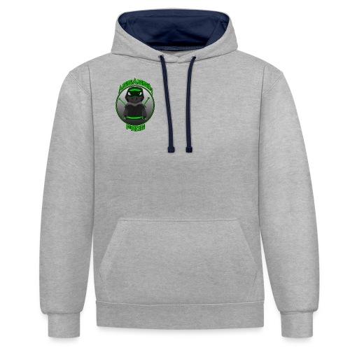 Assassinfrog logo 2 - Contrast Colour Hoodie