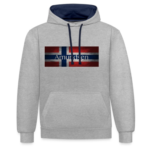 Amundsen jpg - Contrast Colour Hoodie