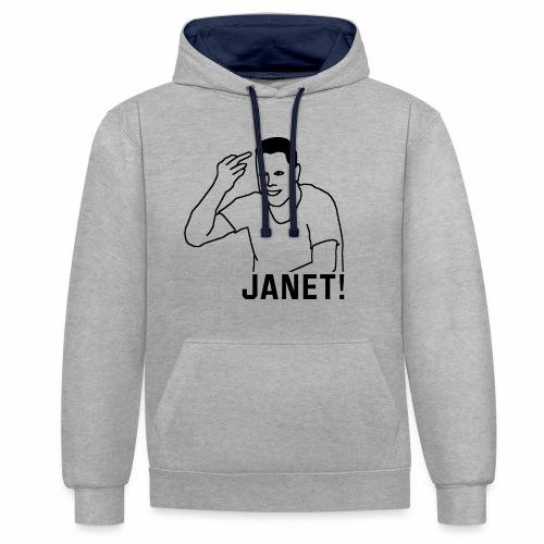 Frank The Tank - Contrast hoodie