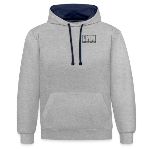 imageedit 31 3310315318 png - Contrast Colour Hoodie