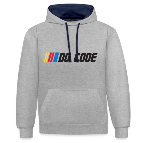 DO CODE - Contrast Colour Hoodie