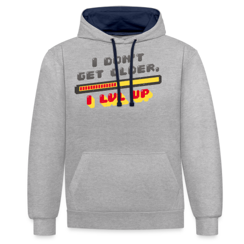 Gamer Spruch - Contrast Colour Hoodie