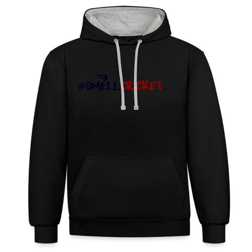 smellcricket - Contrast Colour Hoodie