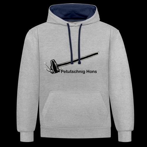Petutschnig Hons - Kontrast-Hoodie