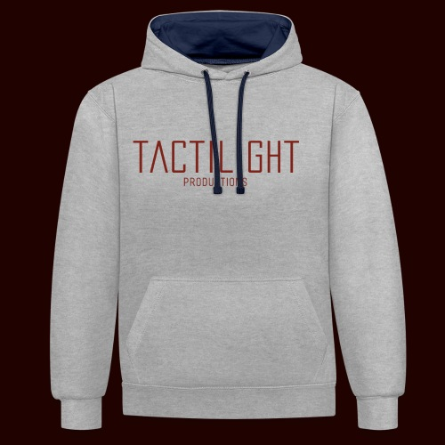 TACTILIGHT - Contrast Colour Hoodie