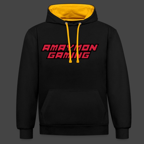 Amaymon Gaming Logo - Kontrastluvtröja