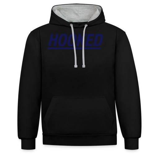 Logo distressed AW - Contrast Colour Hoodie