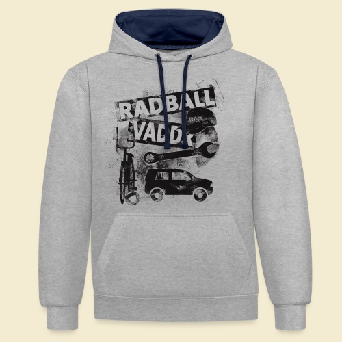 Radball | Vaddr - Kontrast-Hoodie