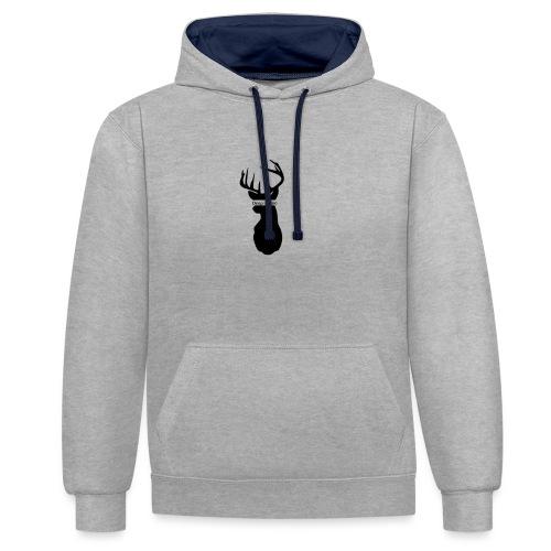 Deep & Vain Logo - Contrast hoodie