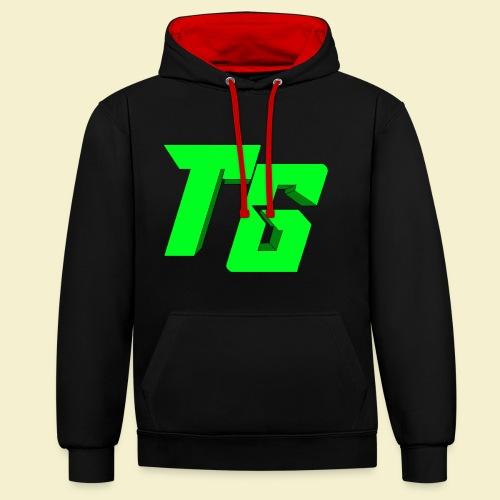 TristanGames logo merchandise [GROOT LOGO] - Contrast hoodie