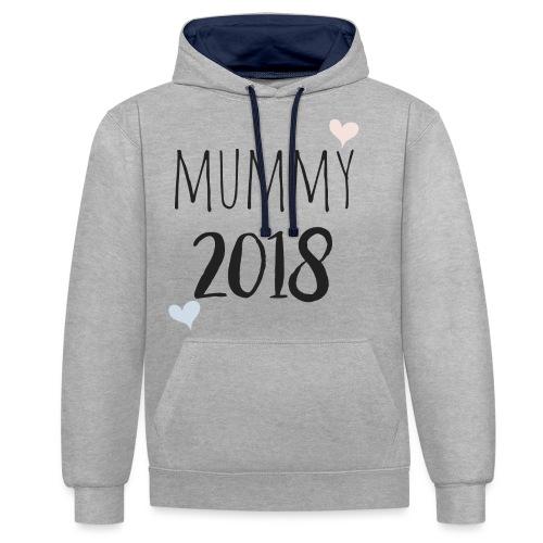 Mummy 2018 - Kontrast-Hoodie