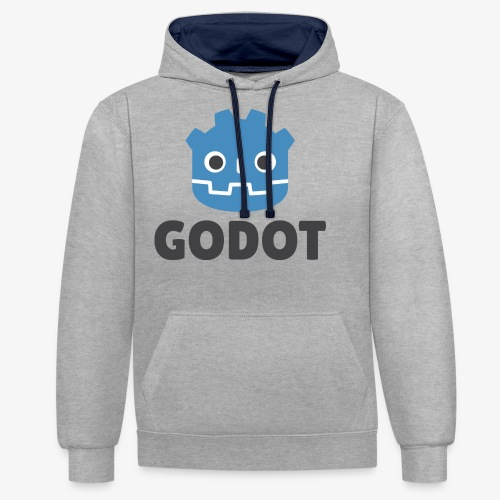 Godot - Contrast Colour Hoodie