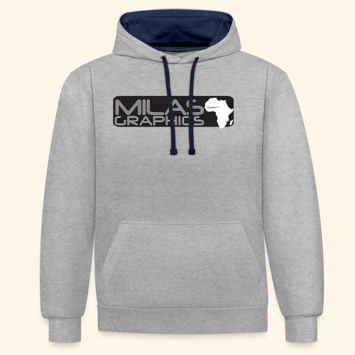 Milas Graphics Africa - Sweat-shirt contraste