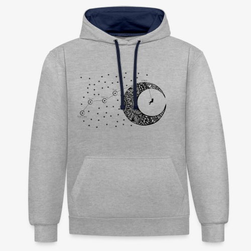 Dream your routes - Contrast Colour Hoodie