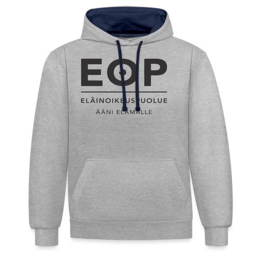 EOP Logo slogan musta - Kontrastihuppari