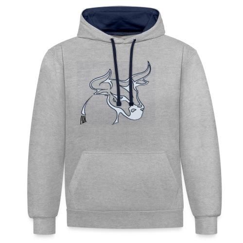 prm design taureau - Sweat-shirt contraste