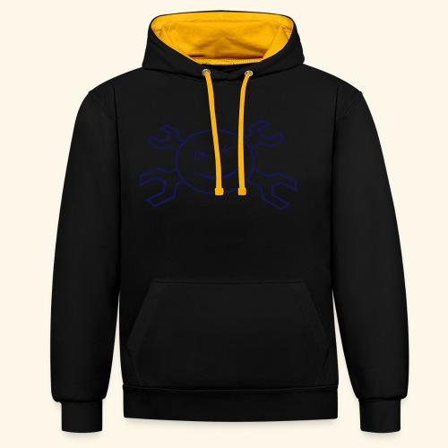 logo_atp_black - Contrast Colour Hoodie