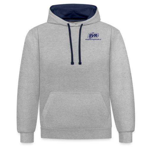 SVR webshop - Contrast hoodie