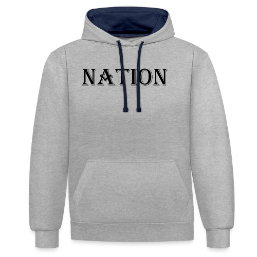 Nation Wear - Contrast hoodie