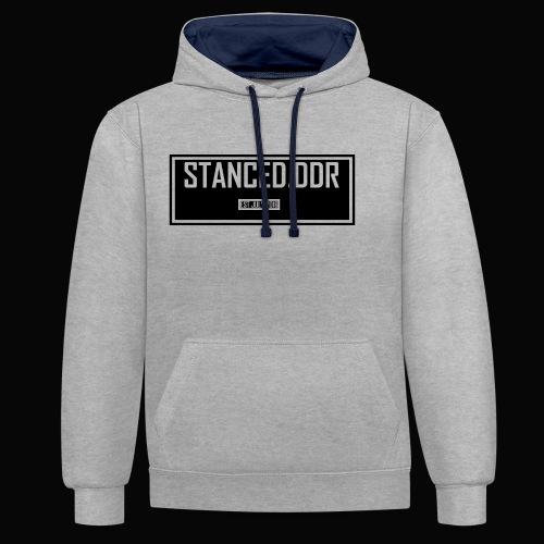 STANCED.DDR - Kontrast-Hoodie