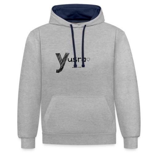 Yusra - Sweat-shirt contraste