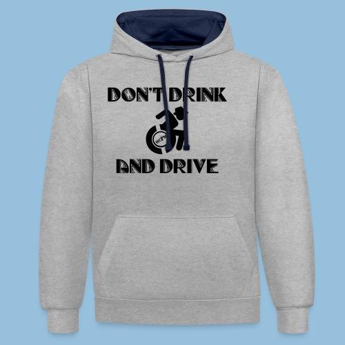 DrinkDrive3 - Contrast hoodie