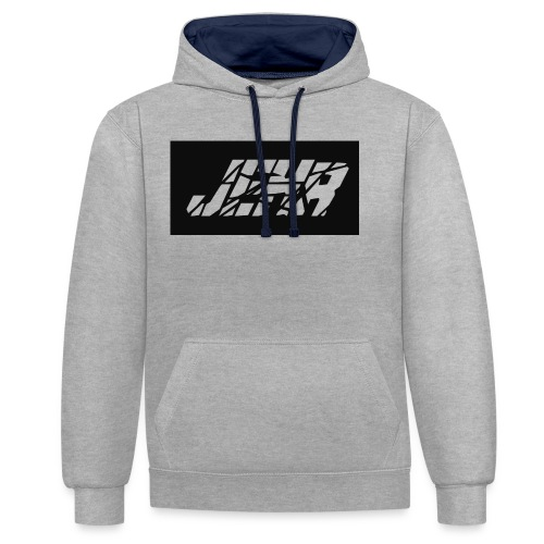 JEHR logo - Contrast hoodie