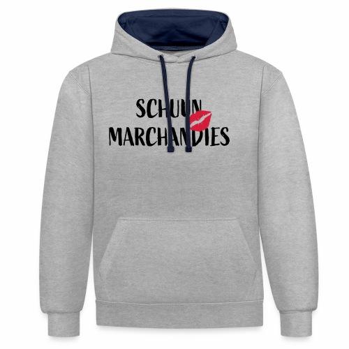 Schuun Marchandies - Contrast hoodie