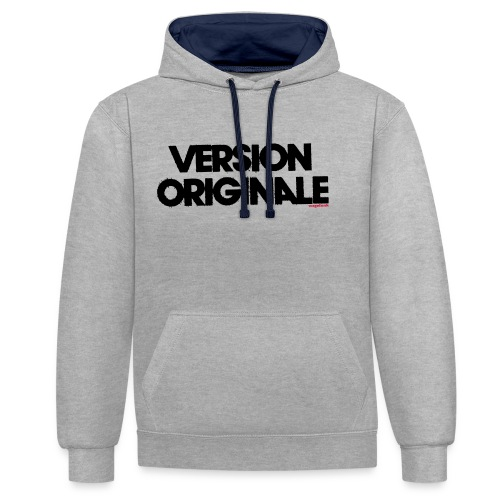 Version Original - Sweat-shirt contraste