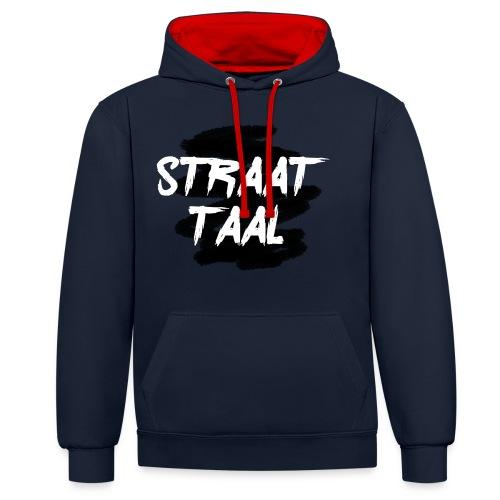 Kleding - Contrast hoodie