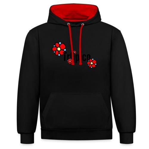 tr0pico - Contrast hoodie