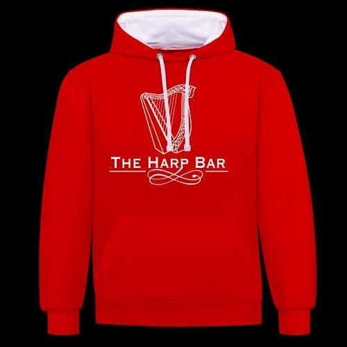 Logo The Harp Bar Paris - Sweat-shirt contraste